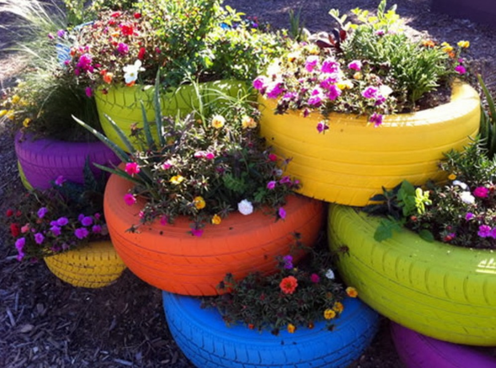 Цветы и клумбы: Как украсить дачный участок цветами - фото с описанием