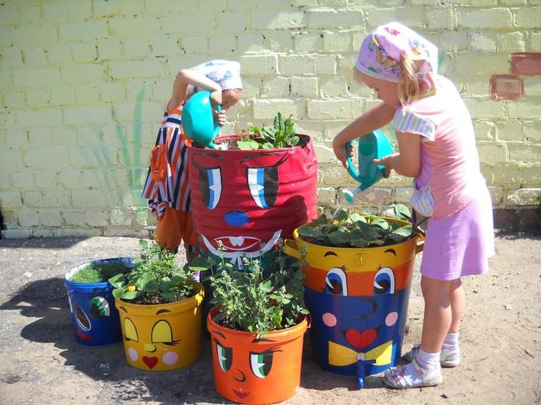 Обустройство: Горшки для цветов своими руками