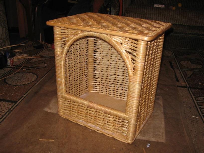 Обустройство: Плетеная кормушка для птиц