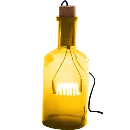 Обустройство: Светильник из бутылок