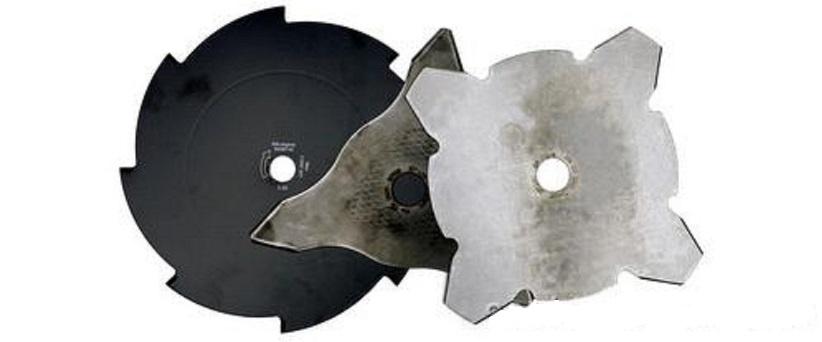 Техника и инструменты для дачи: Триммерные ножи