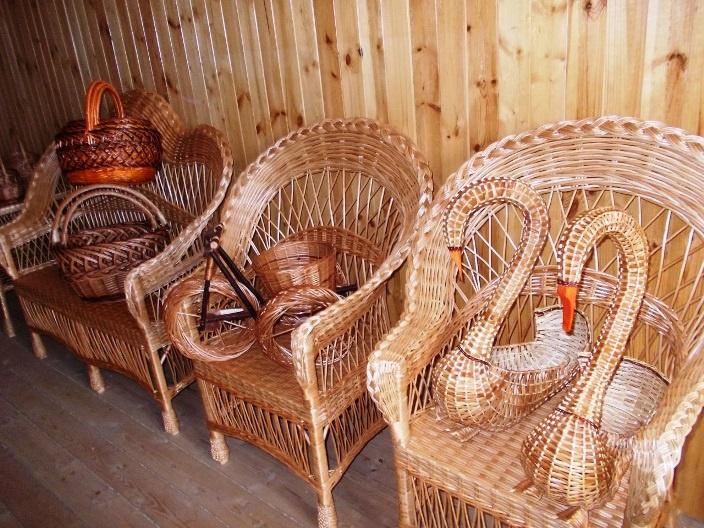 Обустройство: Кресла плетеные