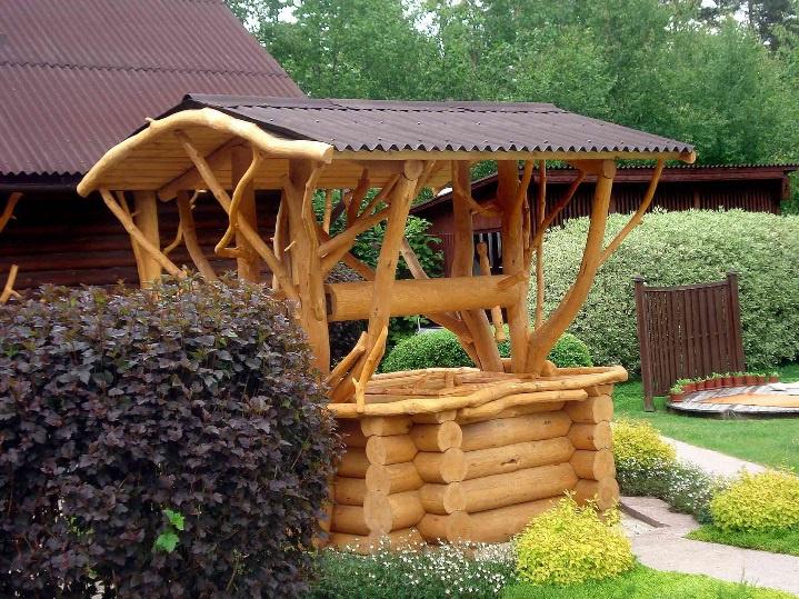 Обустройство: Строительство и дизайн декоративных колодцев на даче