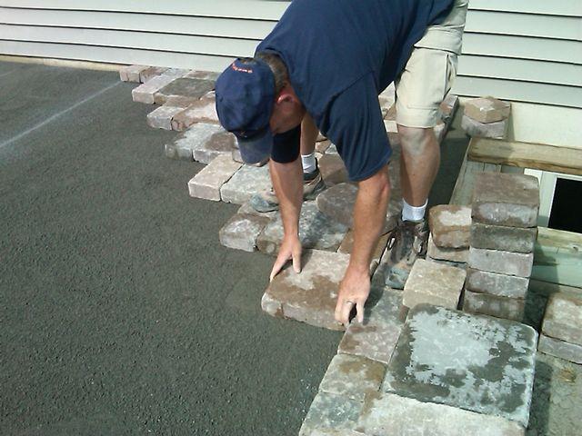 Обустройство: Цементный раствор для тротуарной плитки