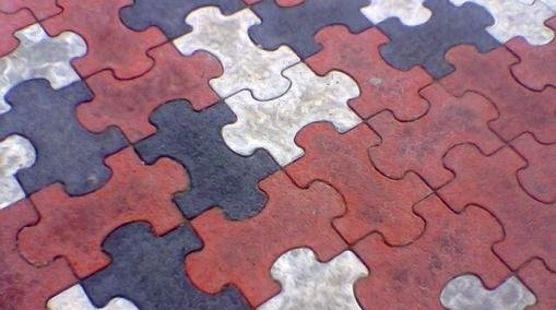 Обустройство: Тротуарная плитка Мозаика
