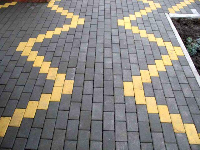 Обустройство: Тротуарная плитка брусчатка