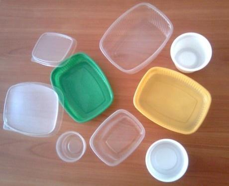 Обустройство: Пластиковые формочки из подручных средств
