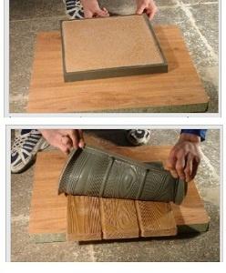 Обустройство: Силиконовая форма для тротуарной плитки