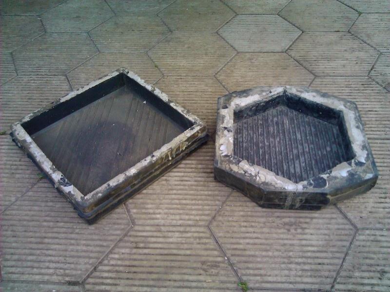 Обустройство: Пластиковая форма для тротуарной плитки своими руками