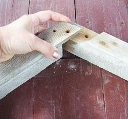 Обустройство: Деревянная форма для тротуарной плитки