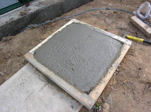 Обустройство: Сколько сохнет тротуарная плитка в форме