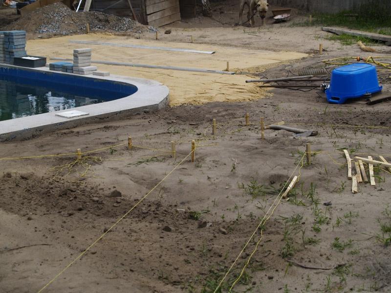 Обустройство: Подготовка основания для укладки тротуарной плитки