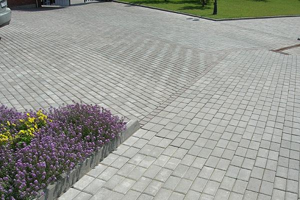 Обустройство: Тротуарная плитка Классика