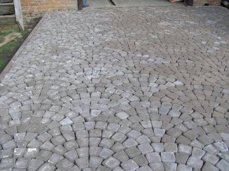 """Обустройство: Схема укладки тротуарной плитки """"Классика"""""""