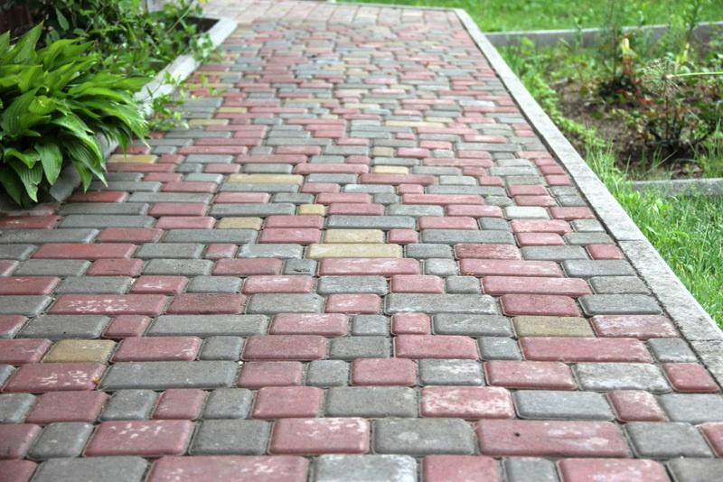"""Обустройство: Схема укладки тротуарной плитки """"Кирпичик"""""""