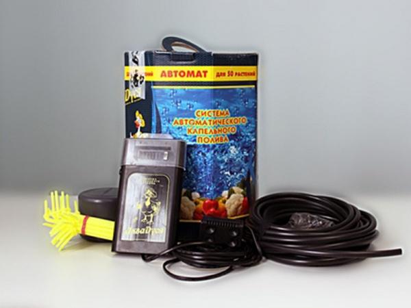 Техника и инструменты для дачи: Автоматическая система капельного полива