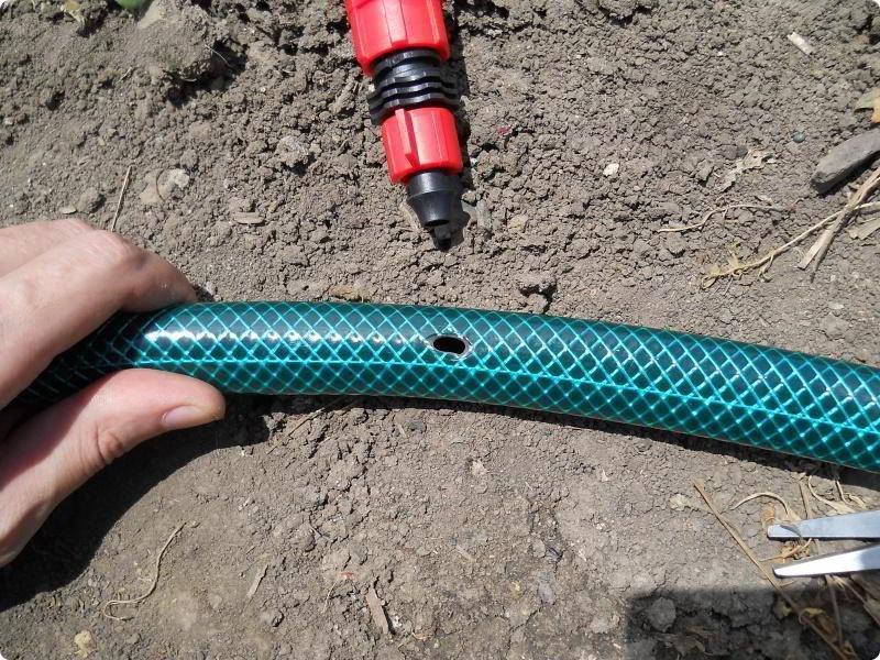 Техника и инструменты для дачи: Монтаж фитингов капельного полива