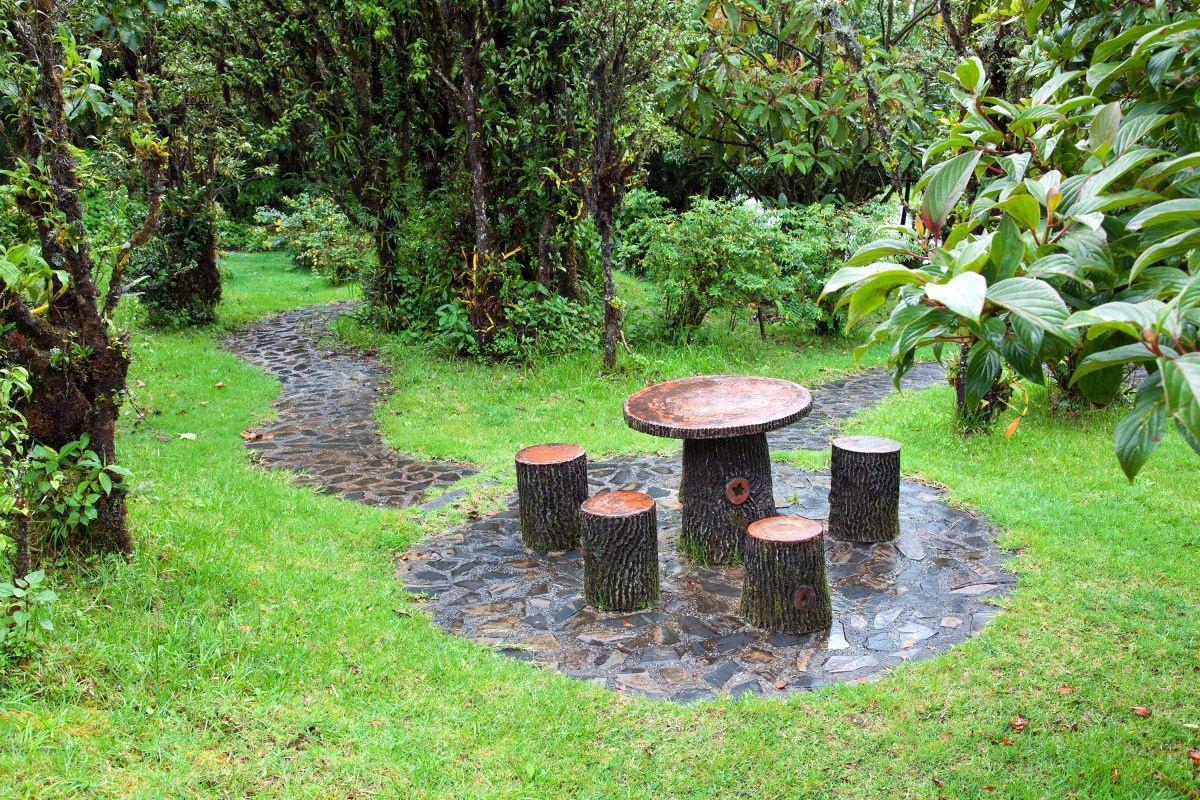 Обустройство: Садовая мебель своими руками