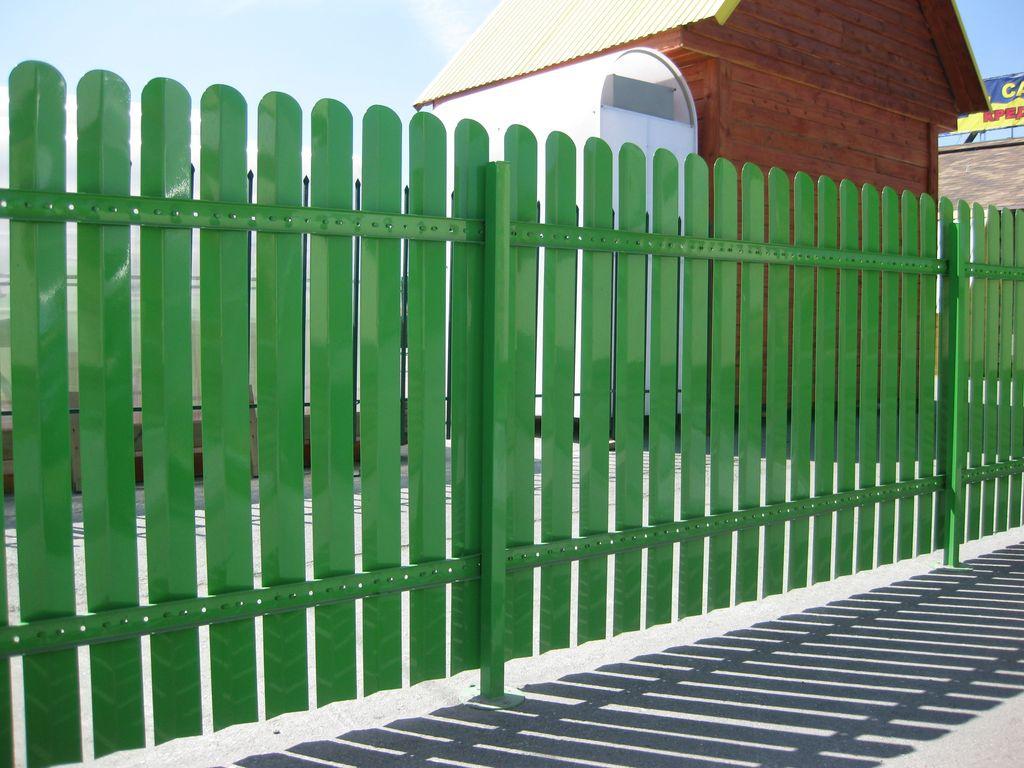 Обустройство: Забор металлический своими руками