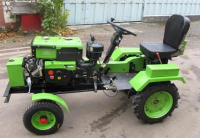 Техника и инструменты для дачи: Как собрать мини-трактор?