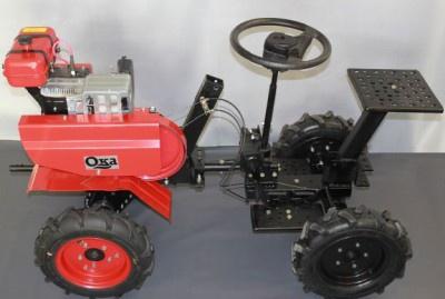 Техника и инструменты для дачи: мини-трактор
