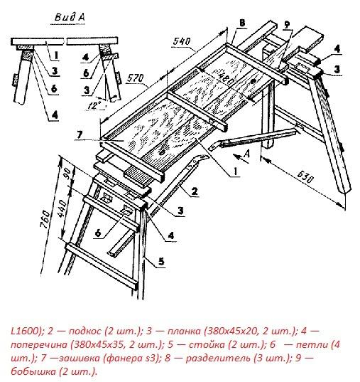 Техника и инструменты для дачи: основание