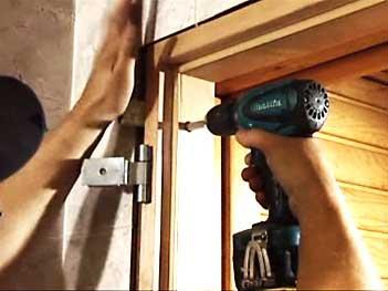 Обустройство: монтаж дверной коробки