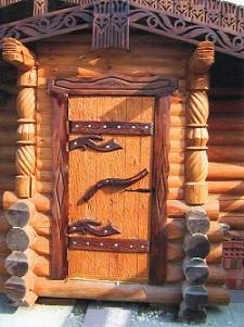 Обустройство: входные двери в баню