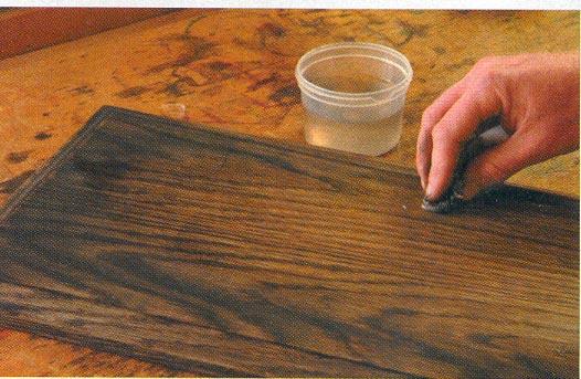 Обустройство: старение стола