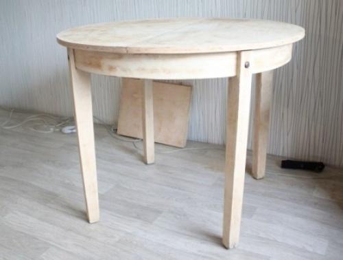 Обустройство: состаренный стол