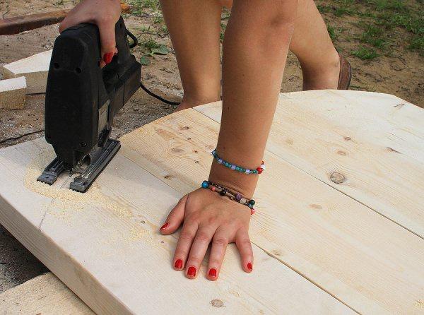 Обустройство: изготовление стола своими руками