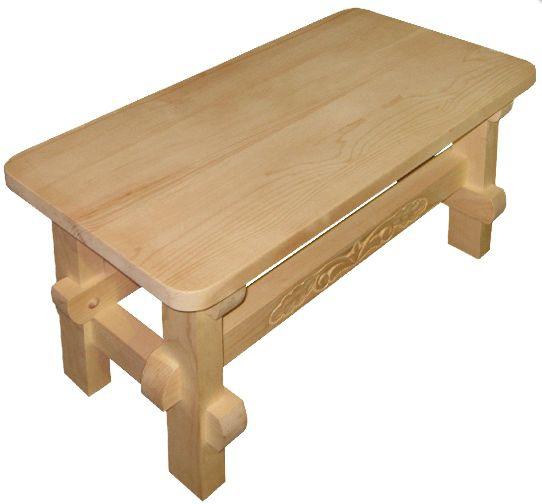 Обустройство: скамейка для бани
