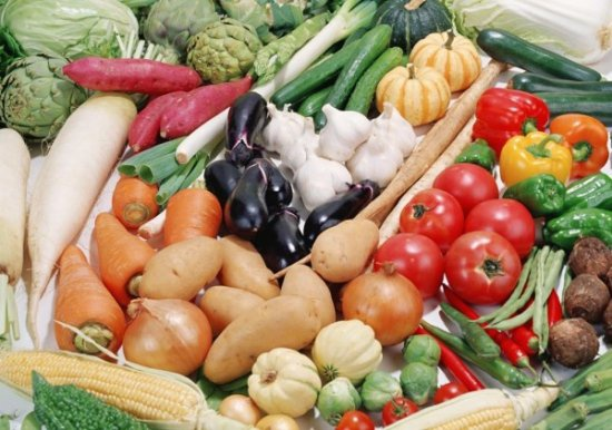 Огород: овощи