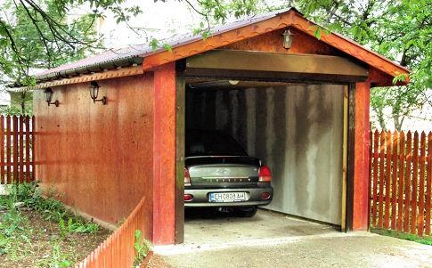 Обустройство: отдельный гараж