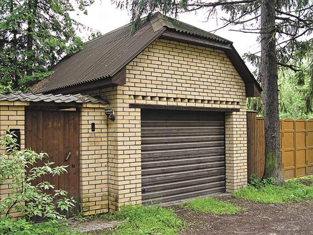 Построить гараж из поддонов