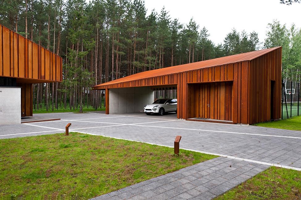 Обустройство: дизайн гаража