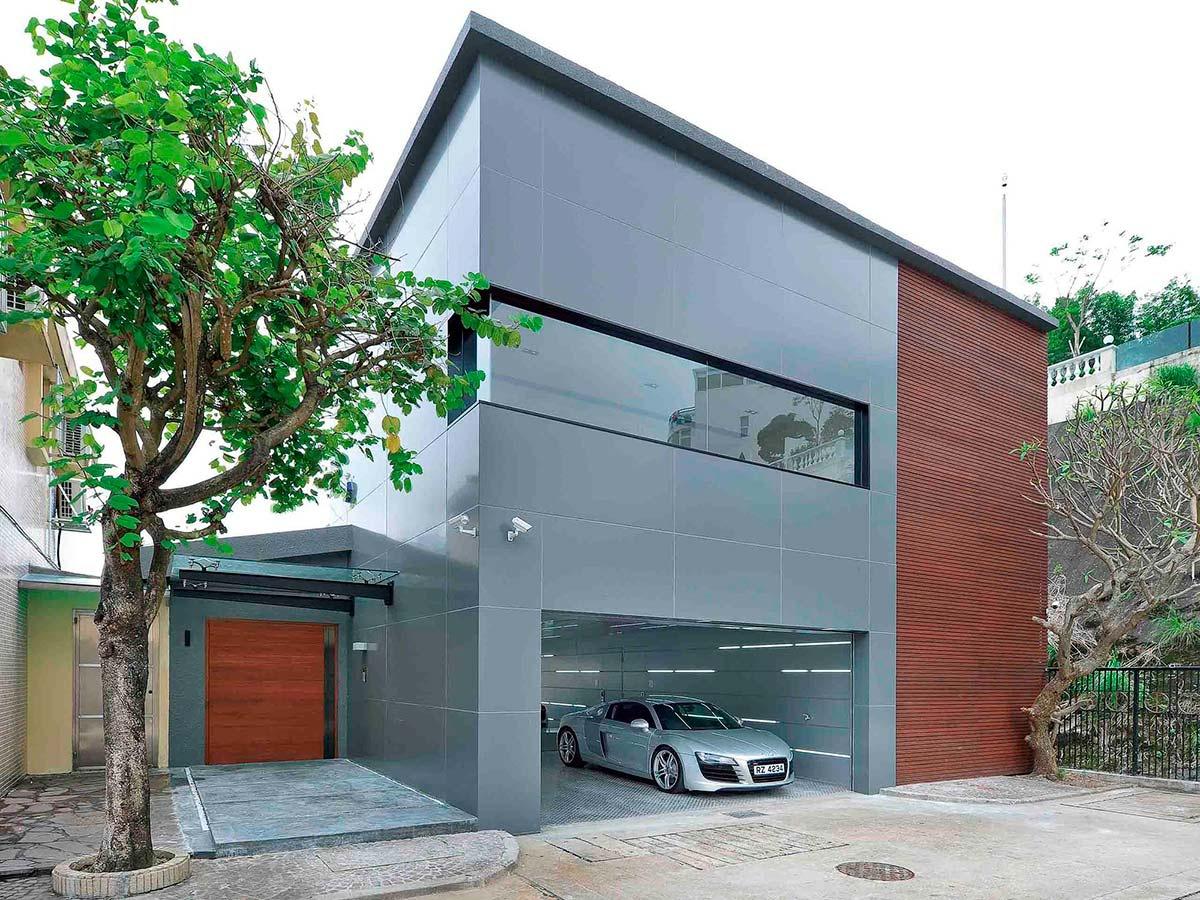 Обустройство: строительство гаража