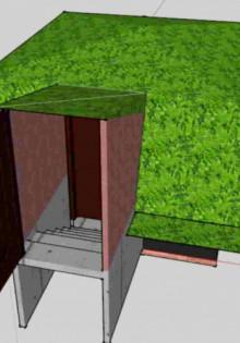 Как сделать погреб насыпной на даче своими руками